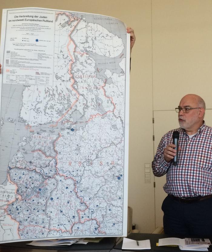 Verbreitung Juden Russland