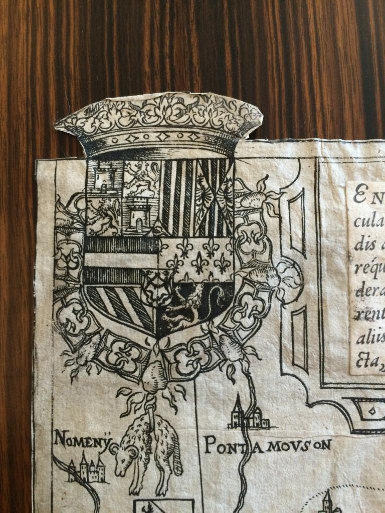 Escudo del emperador Carlos V.