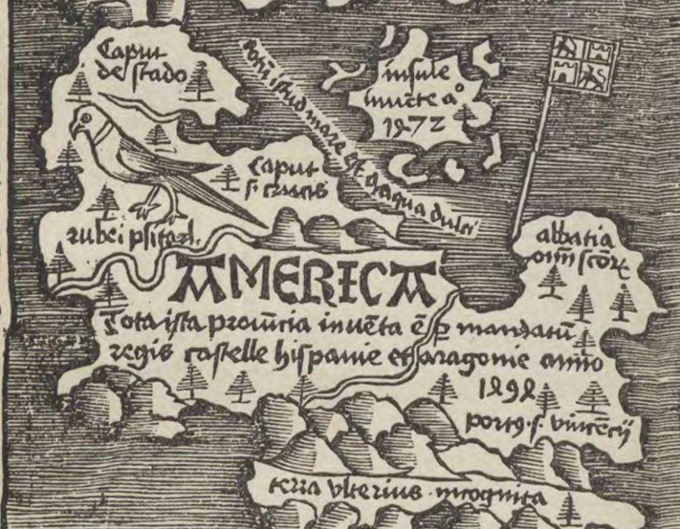1514 Cornelius Aurelius America