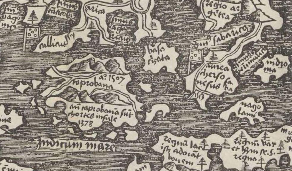 1514 Cornelius Aurelius Taprobana anno 1507 y Aurea Chersonesus 1513