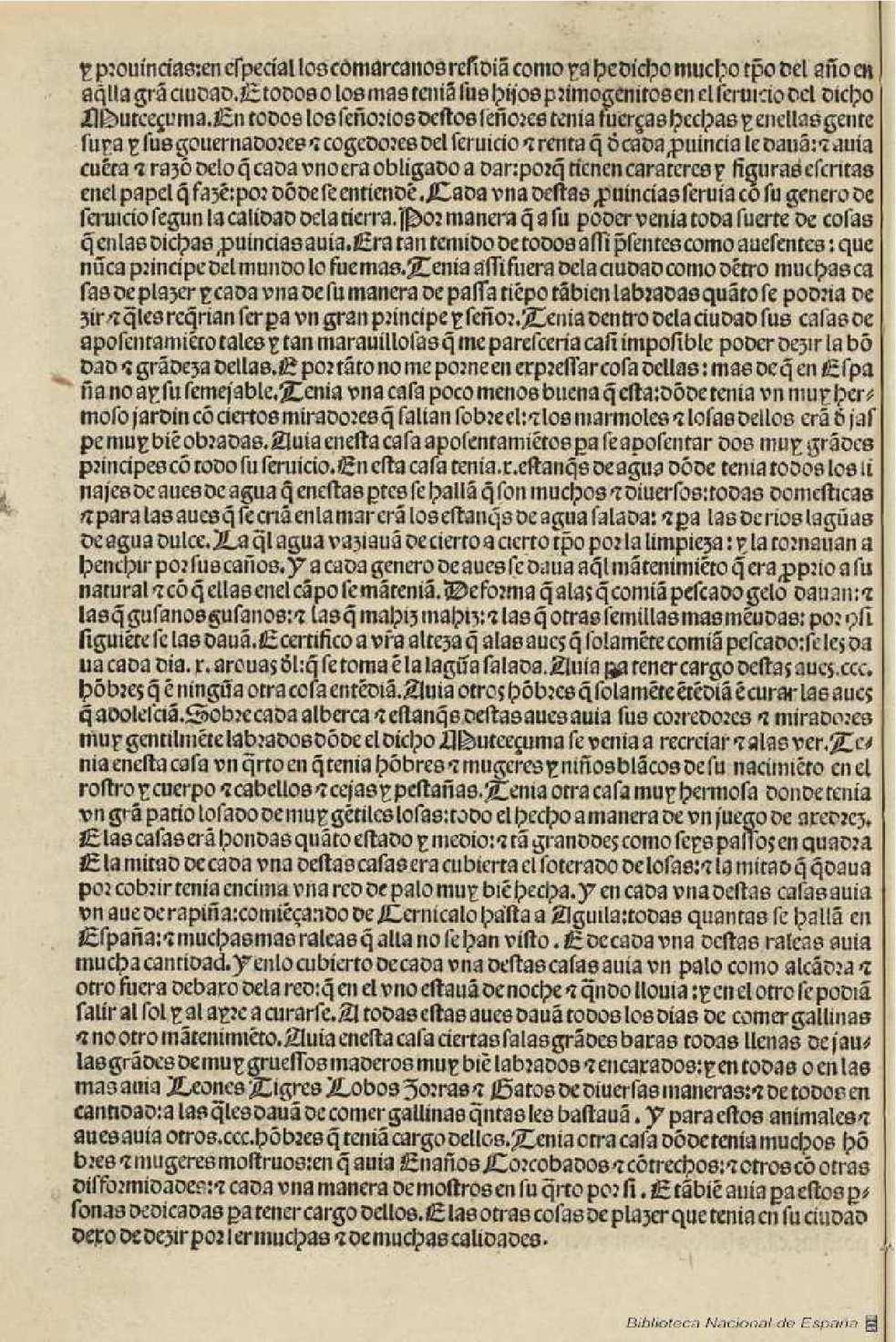 Carta de relacion Cortes 1520 publicada Sevilla 1522 - 16v